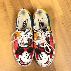 Disney's Mickey Mouse & Friends Vans Size 6.5